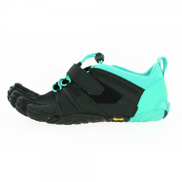 Vibram Five Fingers - V-Train 2.0 (Damen) - Zehenschuhe - Black/Green