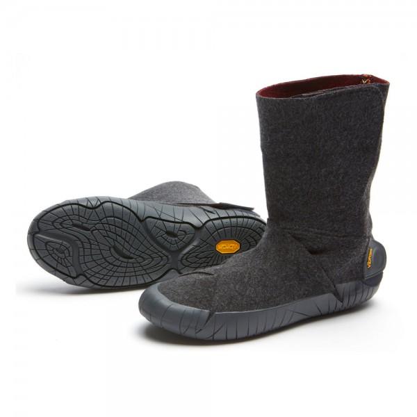 Vibram - FUROSHIKI RUSSIAN FELT MID BOOT (Unisex) - Barfußschuhe - Grey