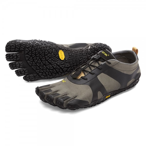 Vibram Five Fingers - V-Alpha (Herren) - Zehenschuhe - Grey-Black