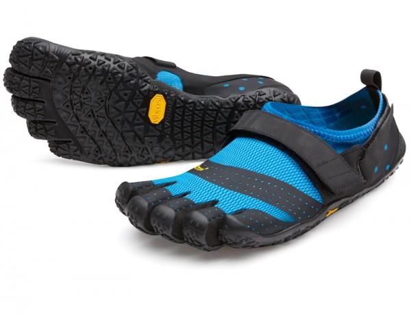 Vibram Five Fingers - V-Aqua (Herren) - Zehenschuhe - Blue - Black