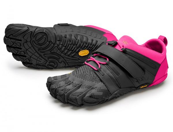 Vibram Five Fingers - V-Train 2.0 (Damen) - Zehenschuhe - Black/Pink