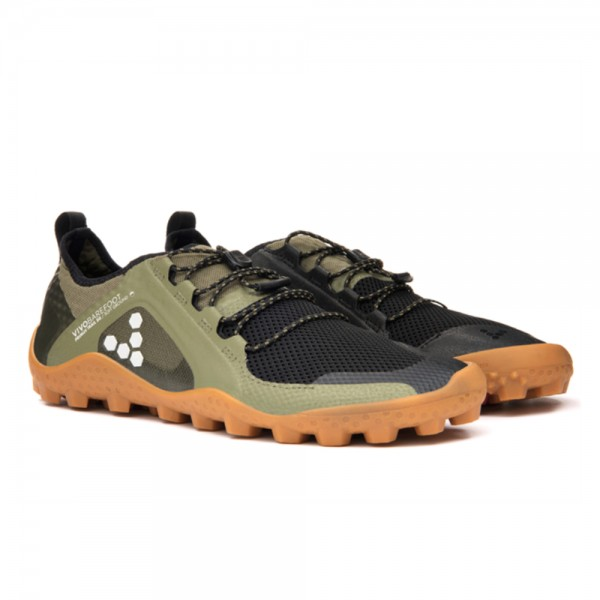 VIVOBAREFOOT - Primus Trail Soft Ground (Damen) - Barfußschuhe - Olive