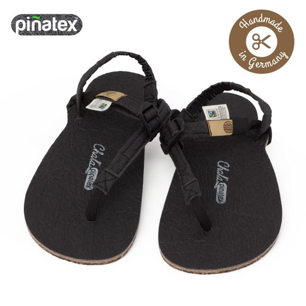 Chala - Huarache-Sandalen - Piñatex Vegan (Unisex) - Black