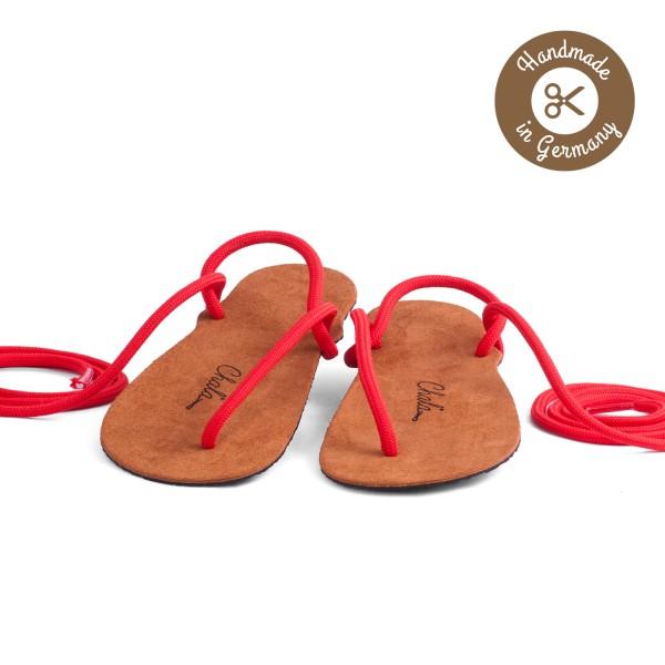 Chala - Huarache-Sandalen - Classic-Kid's (Kinder) - Kastanie-Schwarz
