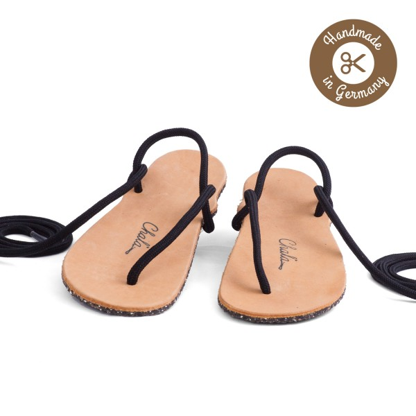 Chala - Huarache-Sandalen - Antique -Kid's (Kinder) - Hellbraun-Eco