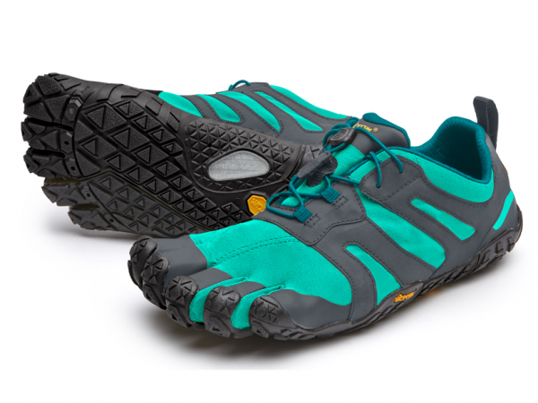 Vibram Five Fingers - V-Trail 2.0 (Damen) - Zehenschuhe - Blue - Green