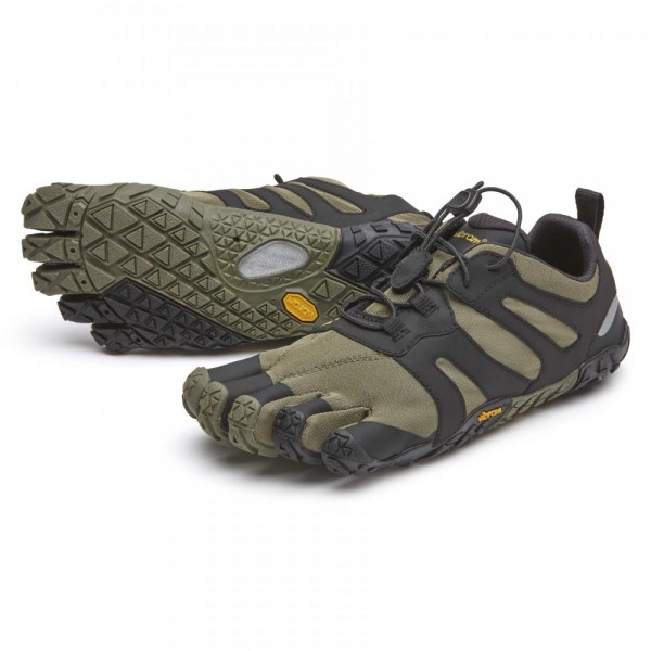 Vibram Five Fingers - V-Trail 2.0 (Herren) - Zehenschuhe - Ivy-Black