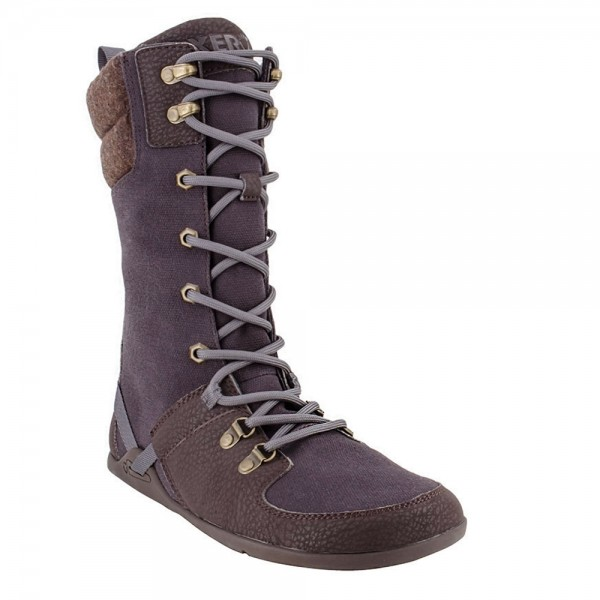 XEROSHOES - Mika - Barfußschuhe (Damen) - Cold Weather Friendly Boot - Chocolate Plum