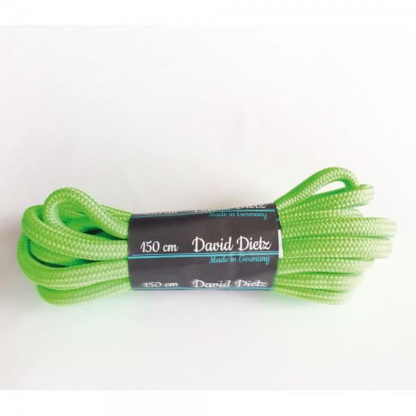 David Dietz - Schnürsenkel Dick 0.60 cm (Unisex) - Neongrün