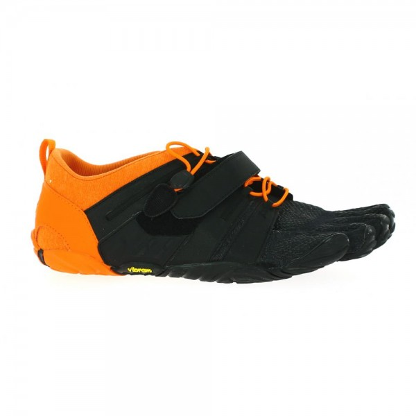 Vibram Five Fingers - V-Train 2.0 (Herren) - Zehenschuhe - Black/Orange