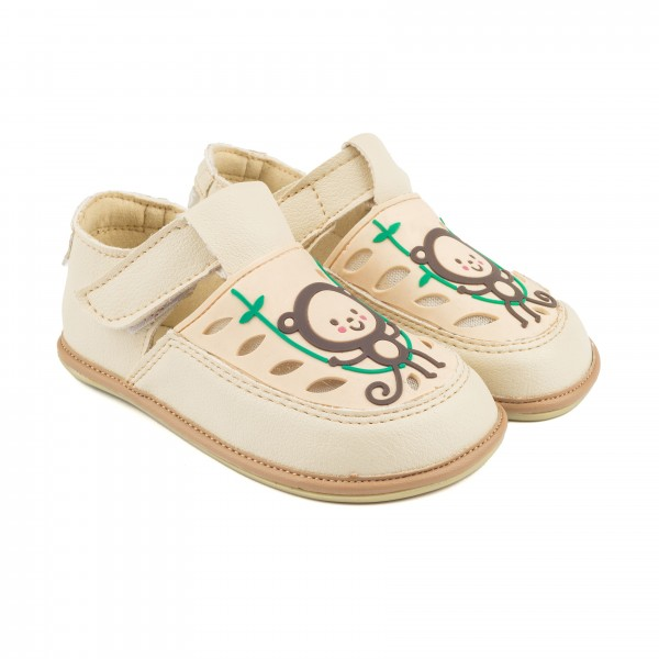 Magical Shoes - GAGA (Kinder) - Barfußschuhe - Affe Weiß