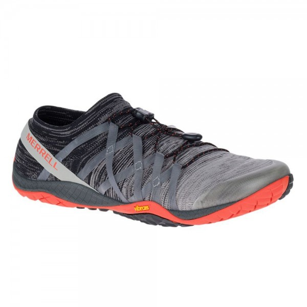 Merrell Barefoot - Trail Glove 4 Knit (Herren) - Barfußschuhe - Charcoal